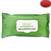 Medline Aloetouch Cleansing Wipes, Pre-Moistened, 23cm x 33cm ., 48ct