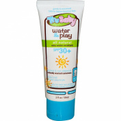 TruBaby Water & Play, Safe for Baby SPF 30+ WR/Unscented Mineral Sunscreen 60ml Tube