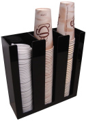 3 Sl Cup Lid Holder Dispenser Coffee Cup Caddy Organise Your Coffee Counter with Style