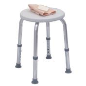 Duro-Med DMI Adjustable Shower Seat, Grey