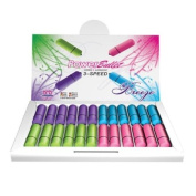 7.6cm Power Bullet Breeze - Assorted Colours Display of 24