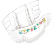 Curity Baby Nappies Case of 272 12 - 18 lbs Size 2 Size SML Sm/Med KENDALL HE... MMED-KND80018 Case