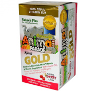 Source of Life Animal Parade Gold Children's-Cherry Flavour - 120 - Chewable