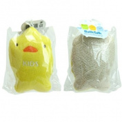 Kids Cotton Bath Sponge Ducky