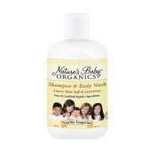 Nature's Baby Organics - Shampoo & Body Wash Vanilla Tangerine, 240ml liquid