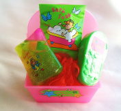 Pink Case Bath Set