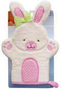 Nojo Character Bath Collection 3D Character Applique Woven Terry Washmitt