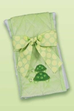 Bearington Baby Tiggles Turtle Burp Cloth