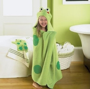 Jumping Beans® Frog Hooded Bath Towel, in Green