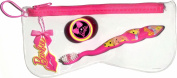 Barbie Travel Toothbrush with Zippered Case and Cap