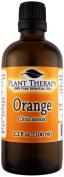 Orange (sweet) Essential Oil. 100 ml (3.3 oz). 100% Pure, Undiluted, Therapeutic Grade.