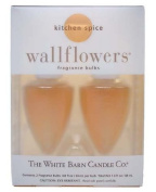 Kitchen Spice Wallflowers Fragrance Bulbs 2 pk - 25ml each- by The White Barn Candle Co.