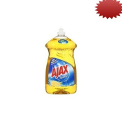 Ajax Super Degreaser Dish Liquid, Lemon, 52 Fluid Ounce
