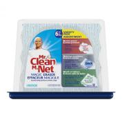 "Magic Eraser Foam Pad, 2 2/5"" x 4 3/5"", Variety Pack, White/Blue, 6/Pack"