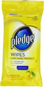 Lemon Scent Wet Wipes, Cloth, 7 x 10, White, 24/Pack