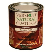 Vermont Natural Coatings Poly Whey Furniture Finish, Clear Satin Finish, 0.9l
