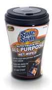 Spic and Span Kleen Maid 00939 White All-Purpose Wet Wipes for Auto/Truck/RV,