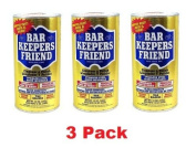 (3 Pack) Bar Keepers Friend Cookware and Sink Cleaner - 350ml Each