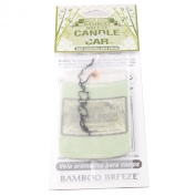 Smoke Odour Exterminator Candle for the Car, Bamboo Breeze