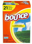 Bounce Fabric Softener Dryer Sheets, Outdoor Fresh, 260 Ct