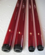 T12 120cm Red Fluorescent Safety Sleeve
