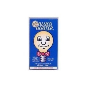 Blues Buster Full Spectrum Light Bulb, Frosted, 100 W