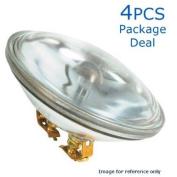 GE 30w 6.4v 4515 PAR36 G53 Incandescent Bulb x 4 pieces
