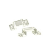 Jesco Lighting DL-FLEX-OD-CLIP Accessory - LED Outdoor Mounting Clip, Steel Finish