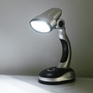 Battery-Powered Cordless Mini 12 LED Emergency Desk LED Lamp by AlexCity