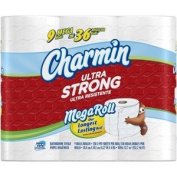 CHARMIN BATH TISSUE TOILET PAPER ULTRA STRONG 8 MEGA ROLLS