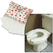 Disposable Flushable Toilet Seat Protection Covers Pouch