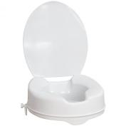 AquaSense Raised Toilet Seat with Lid - Raised 4 Inches