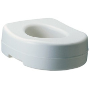 Carex Moulded Raised Toilet Seat
