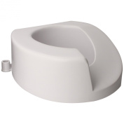 Ableware 725901001 Left Elongated Elevated Toilet Seat
