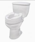 Raised Toilet Seat with Lock