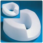 Elevated Toilet Seat - Left cutout