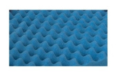 Duro-Med Convoluted Bed Pad Hospital-Size Bed Pad, Blue, 80cm x 180cm x 5.1cm