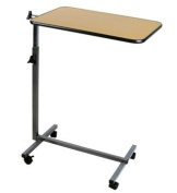 NEW Hospital Tilt Table Top Stand Rolling Over Bed For Food Tray, Computer