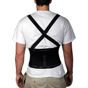 Back Brace Suspenders - Spine and Abdominal Support with Elastic Panels