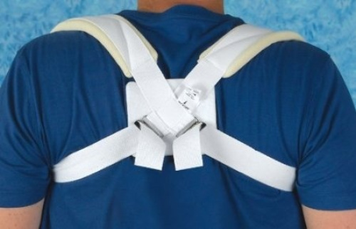 Medline Cotton Clavicle Straps, Small.