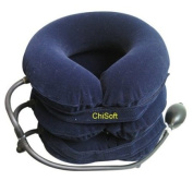Neck Traction Device - (ChiSoft) #1 Doctors Recommended