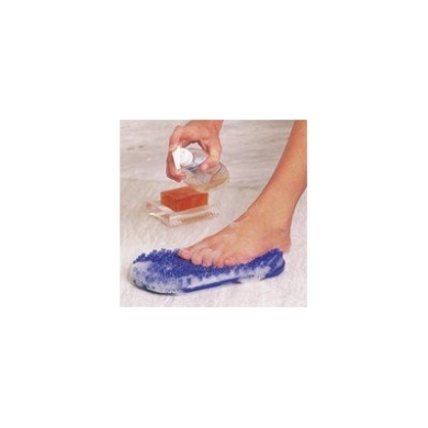 Soapy Soles Foot Scrubber Colour: Pearl Silver