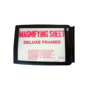 Magnimax- 2x Large Full Page Magnifier with a Free Credit Card Sized Magnifier