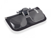 Carson Clip and Flip Multi Powered Clip-On, Flip-Up Magnifying Lenses