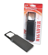 Carson LumiPop 5X LED Lighted Pocket Aspheric Magnifier with Slide-Out Case