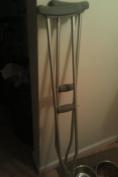 Lumex 3610lf-8 Universal Aluminium Lightweight Adult Crutches
