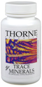 THORNE RESEARCH - Trace Minerals (Zn/Mn/Cr/Se/Mo/V) - 90's [Health and Beauty]