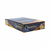 Quest Nutrition Vanilla Almond Crunch Protein Bars - Pack of 12 Protein Bars