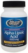 Vitamin Shoppe - Alpha-Lipoic Acid, 600 mg, 60 capsules