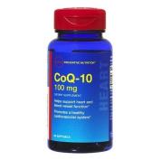 GNC Preventive Nutrition CoQ-10 100mg, Softgel Capsules, 60 ea Single & Multi Packs
